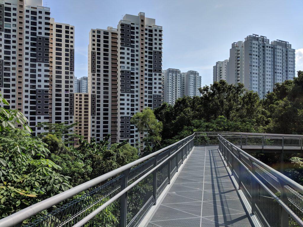 Passerelle Southern Ridges Singapour