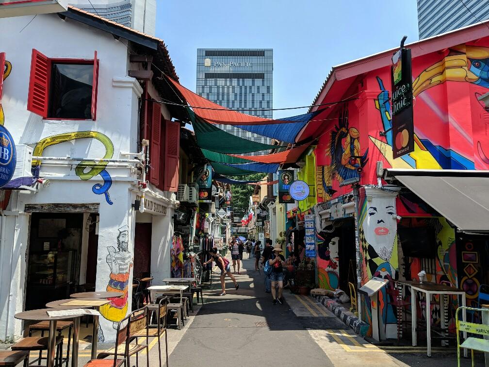 Ruelle de Kampong Glam Singapour