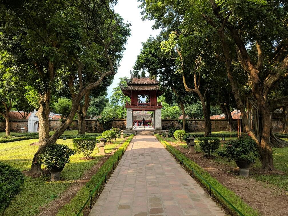 Pavillon de la Constellation de la Littérature à Hanoi