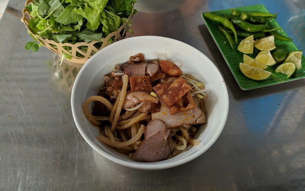 Bol de Cao Lau à Hoi An