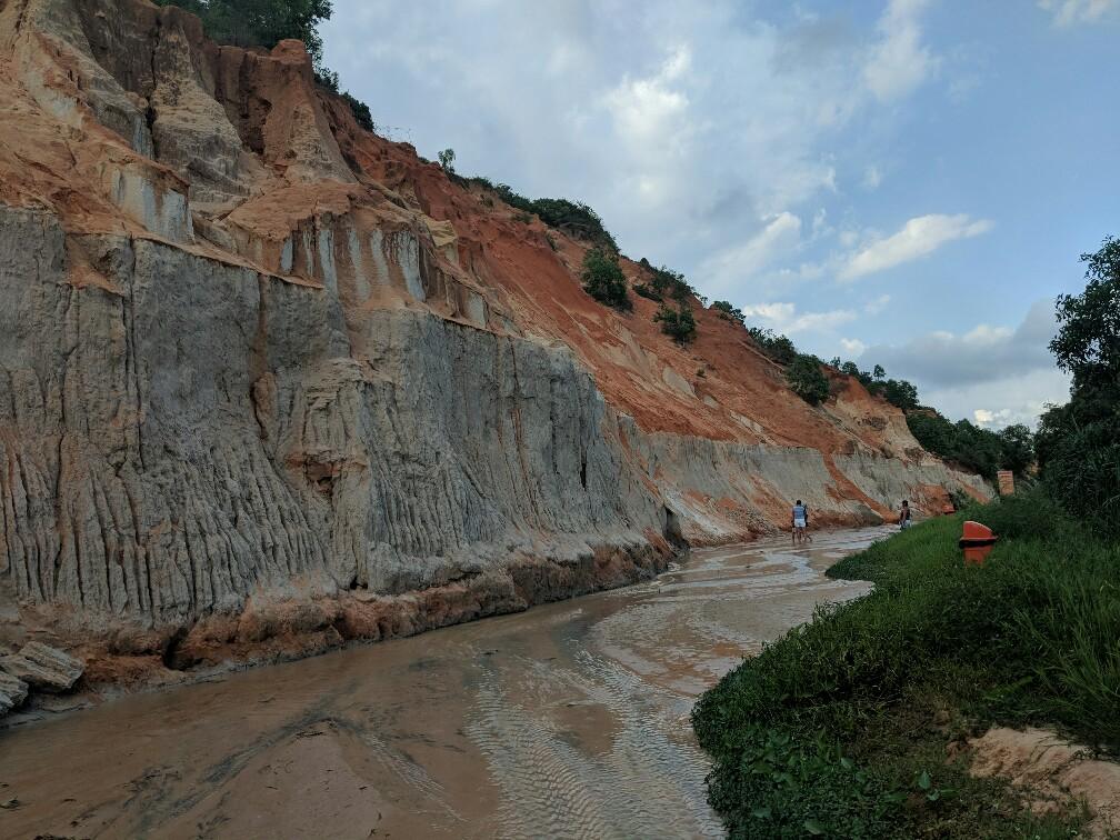 "Courant d""eau du Fairy Stream à Mui Ne, Vietnam"