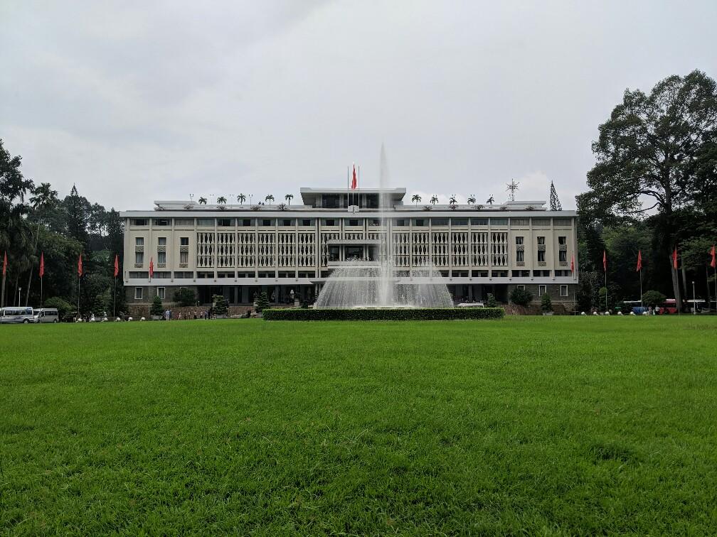 Palais de la Réunification à Ho Chi Minh, Vietnam
