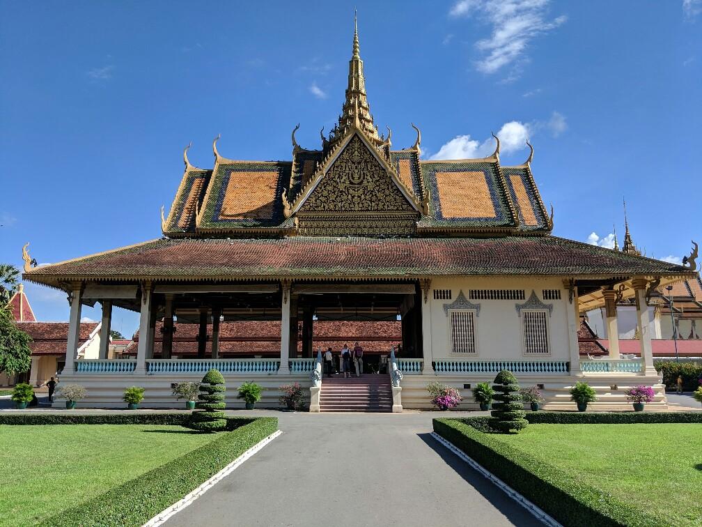 Batiment annexe du Palais Royal de Phnom Penh, Cambodge