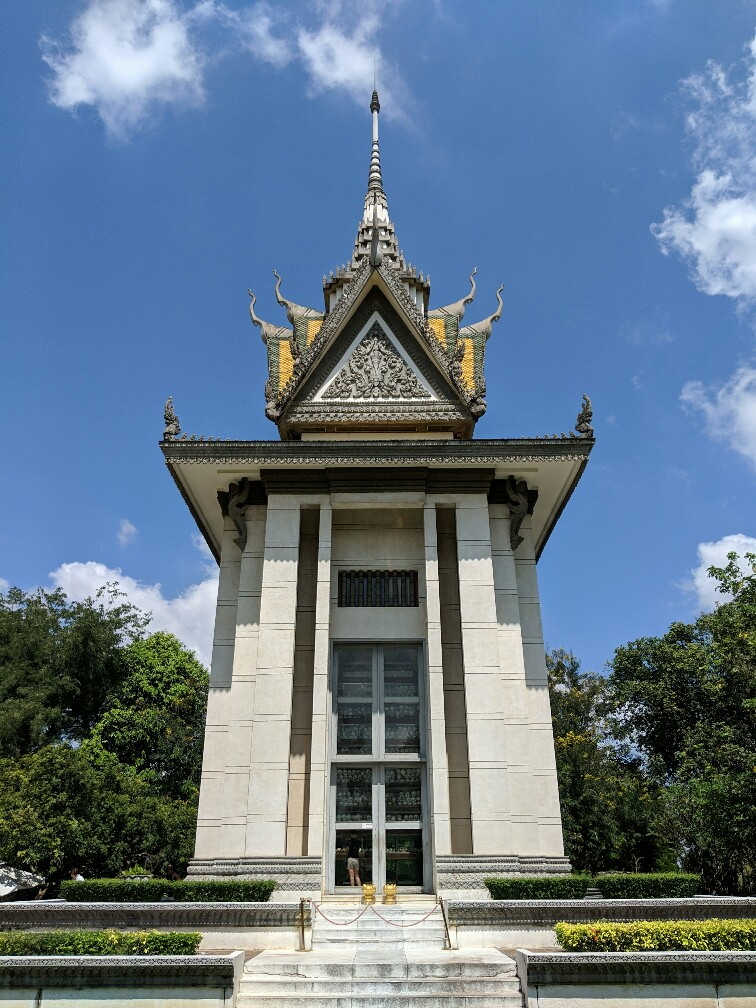Monuments aux morts des Killing Fields près de Phnom Penh, Cambodge