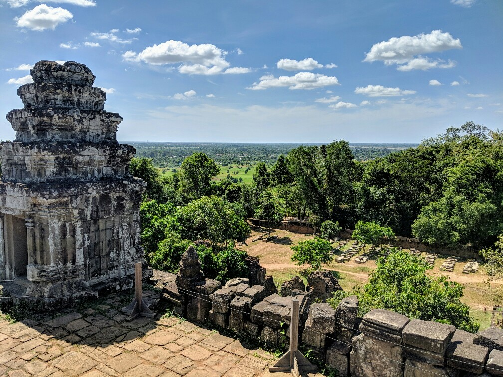Vue depuis le temple de Phnom Bakheng