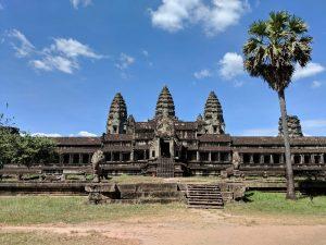 Entrée du temple d'Angkor Wat, Cambodge