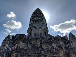 Tour principale du temple d'Angkor Wat, Cambodge