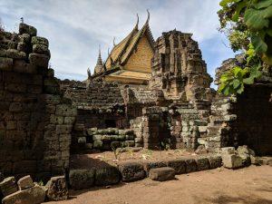 Temple de Vat Nokor à Kampong Cham, Cambodge