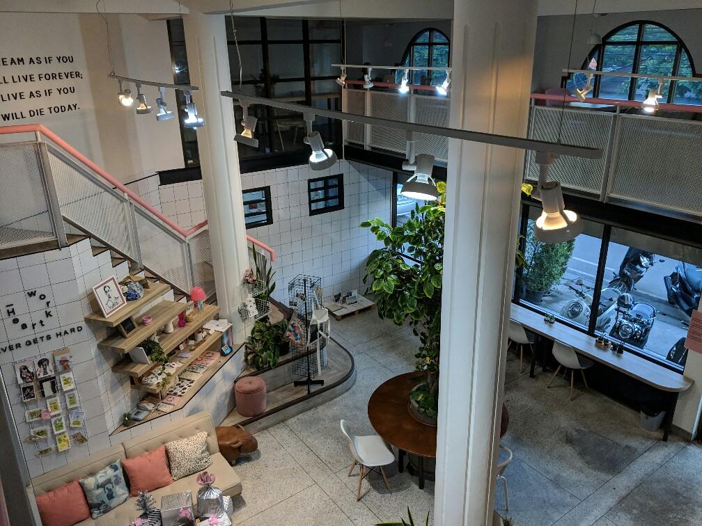 Lobby du Heart Working Café à Chiang Mai, Thailande