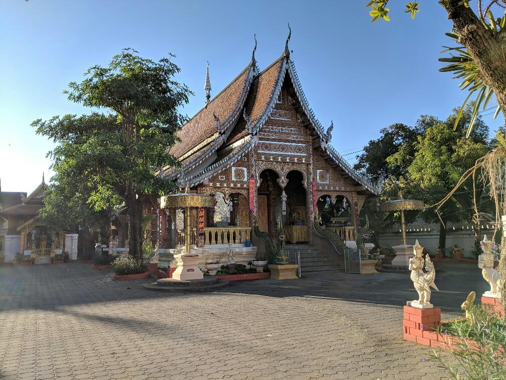 Temple de Rachamontian à Chiang Mai, Thailande
