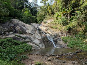 Chutes d'eau de Mo Paeng, près de Pai, Thailande