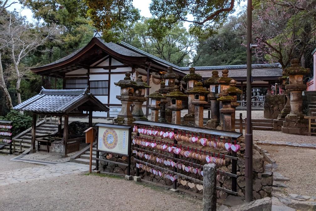 Un temple très calme