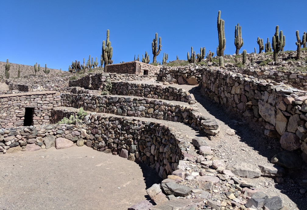 Ruines du Pucara de Tilcara en Argentine
