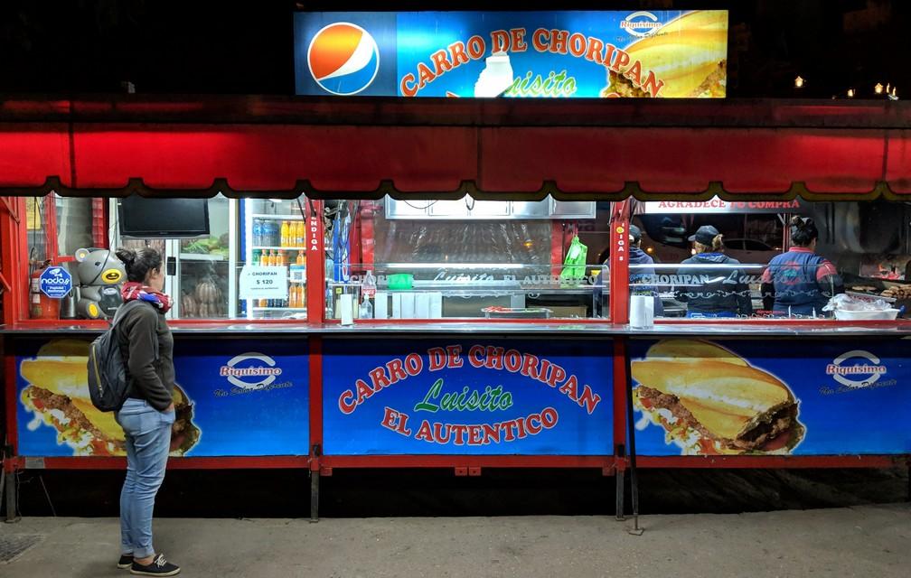 Food truck d'El Luisito à Córdoba en Argentine