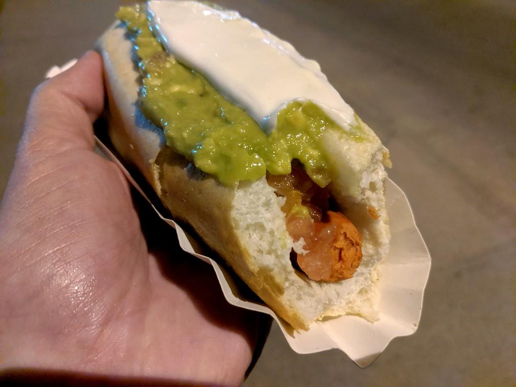 Completo sandwich à La Serena