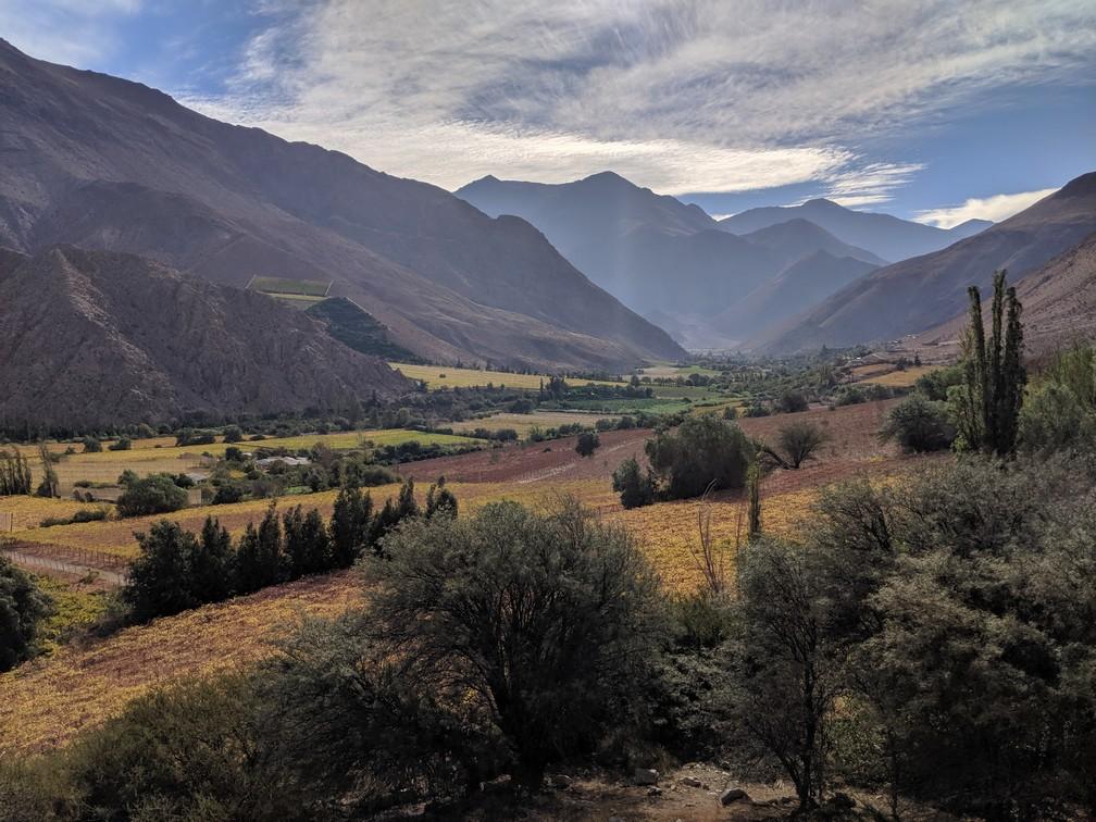 La vallée d'Elqui ensoleillée