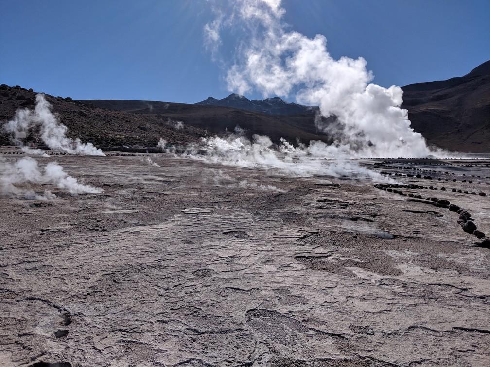 Vallée des geysers de Tatio