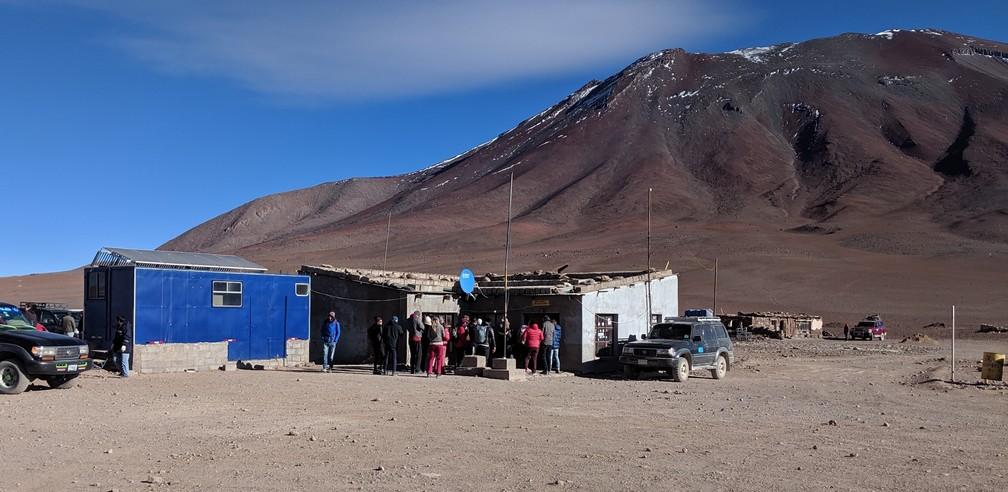 Douane bolivienne près de San Pedro de Atacama