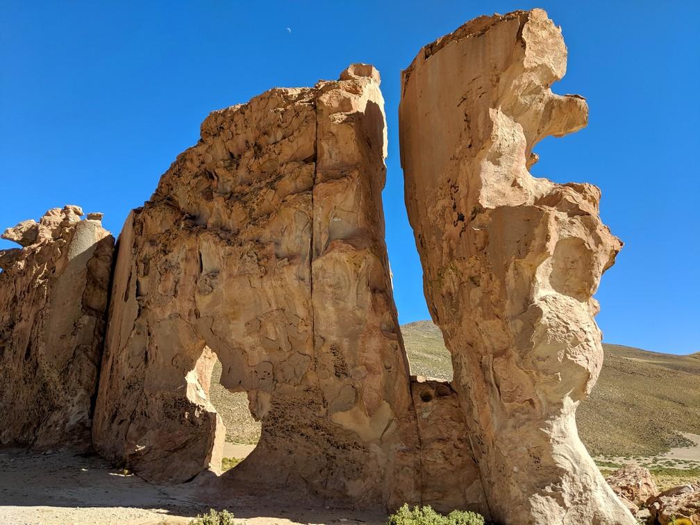 Grandes roches de forme bizarre à la Cité de pierre