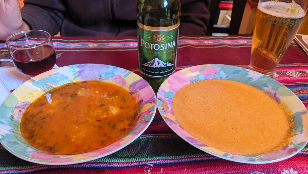Soupes de Cafe Potocchi à Potosi