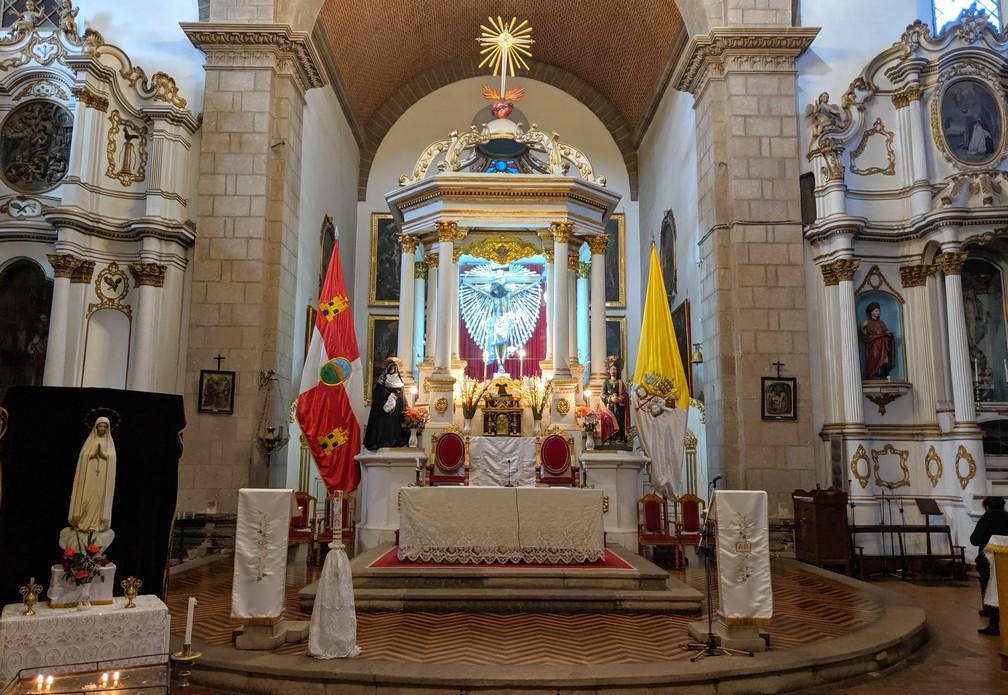 Autel de l'église San Francisco à Potosi