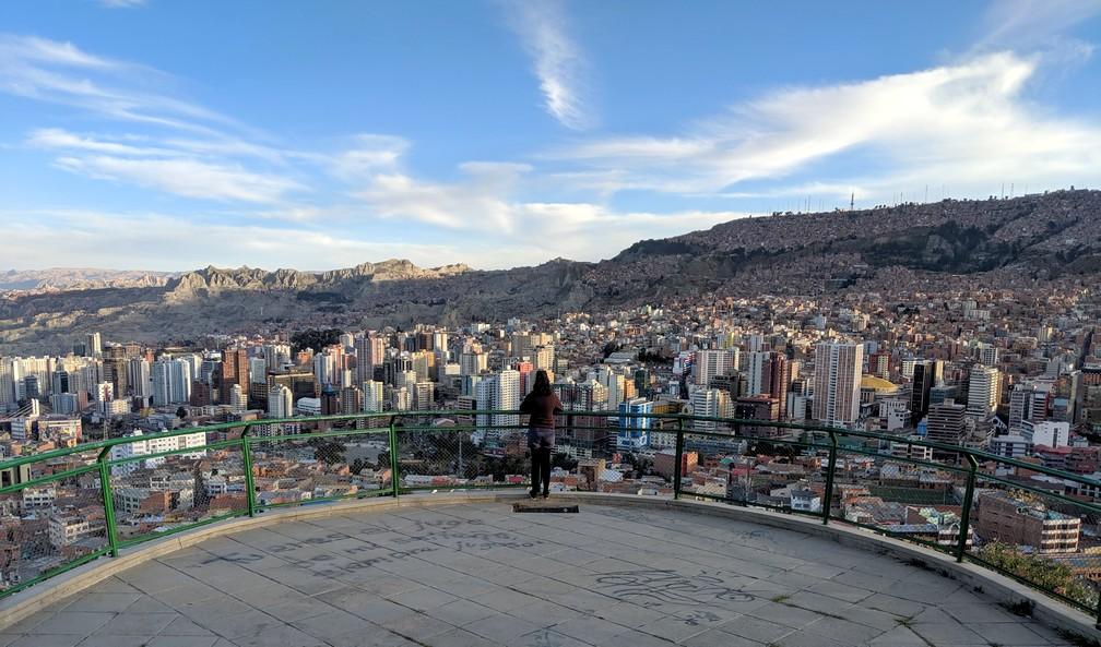Point de vue sur La Paz depuis la colline Killi Killi