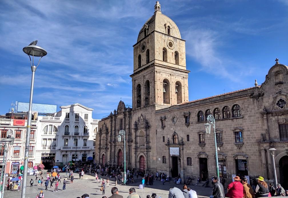 Cathédrale San Francisco à La Paz
