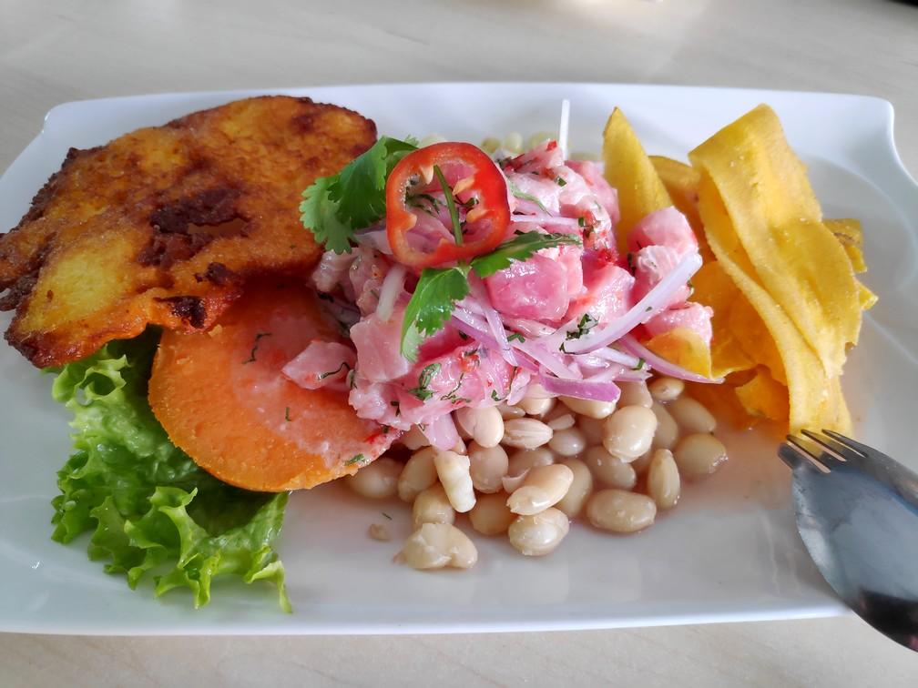 Plat de Ceviche à Chiclayo au Pérou