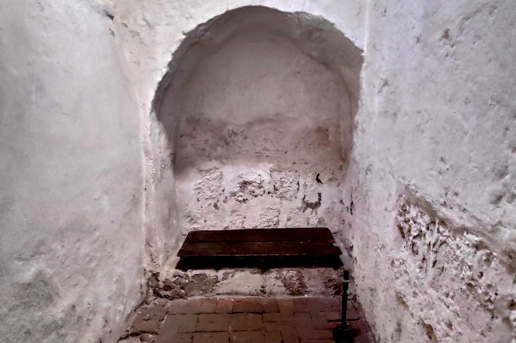 Chambre très dépouillée au couvent de Santa Catalina à Arequipa