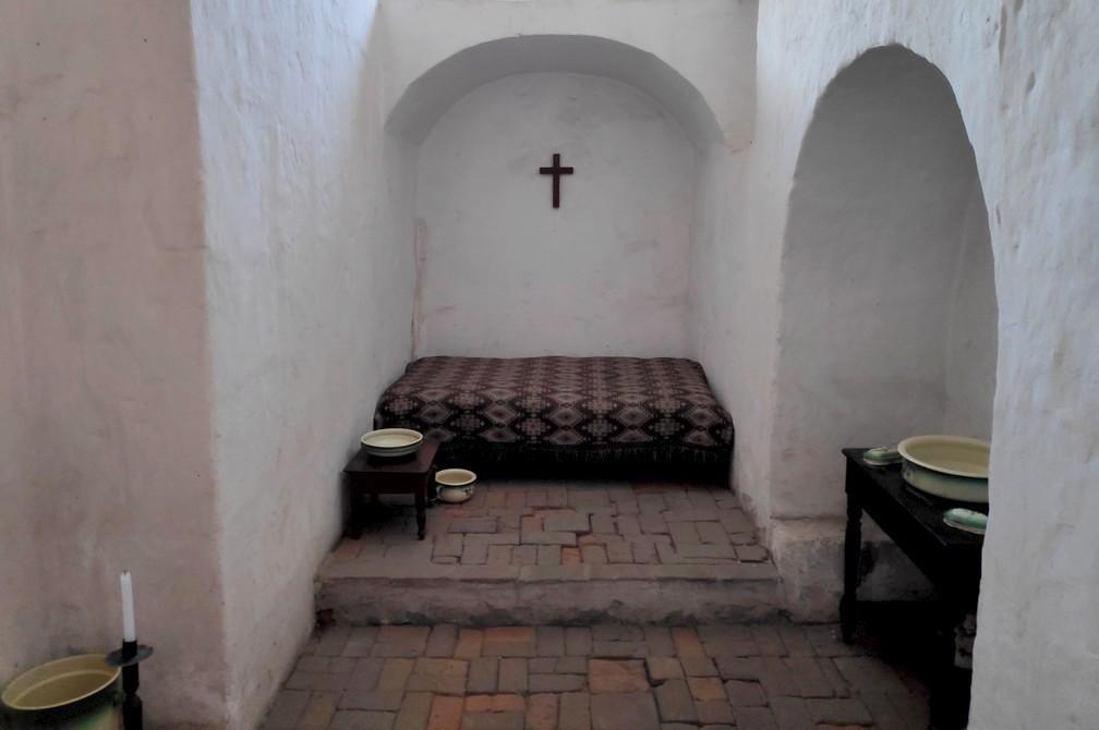 Chambre modeste au couvent de Santa Catalina à Arequipa
