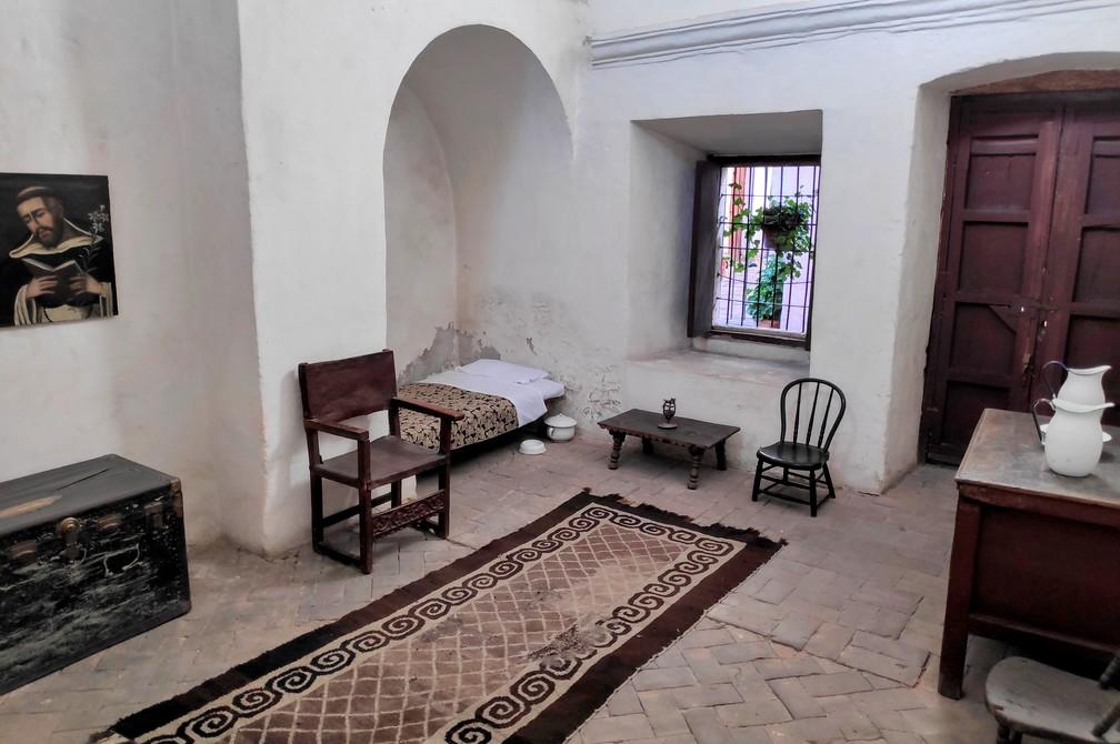 Chambre fournie au couvent de Santa Catalina d'Arequipa