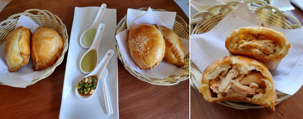 Empanadas au poulet de chez Don Empanadon à Arequipa