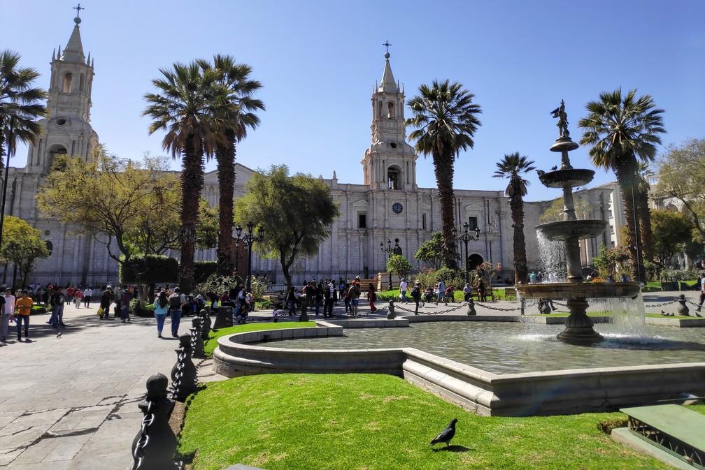 Place des Armas à Arequipa