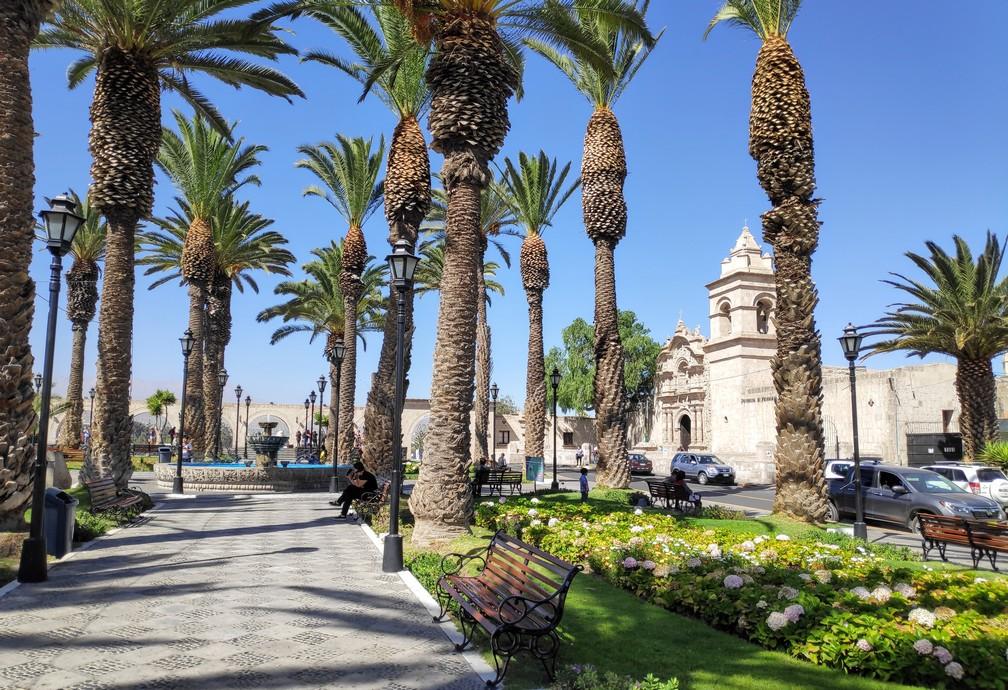 Place de Yanahuara à Arequipa