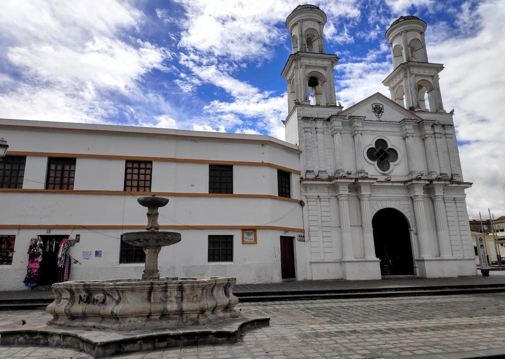 Église à Latacunga