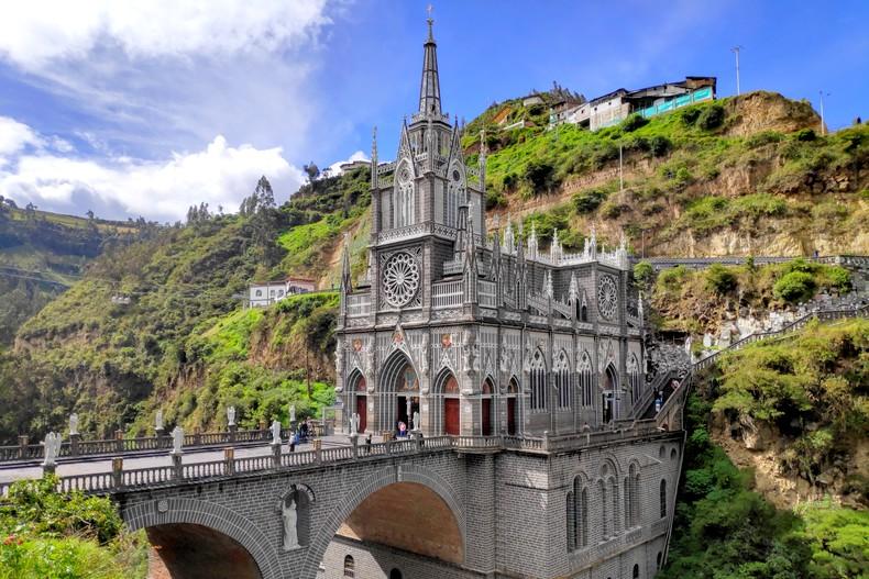 Eglise de Las Lajas à Ipiales