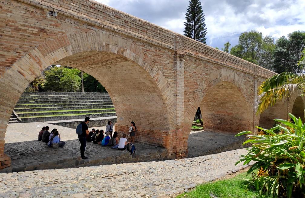Puente del Humilladero à Popayan
