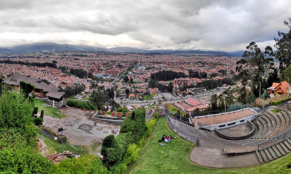 Panorama sur Cuenca depuis le mirador Turi