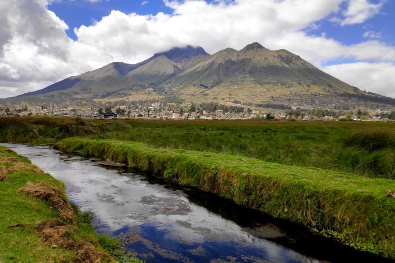 Montagne Imbabura à Otavalo