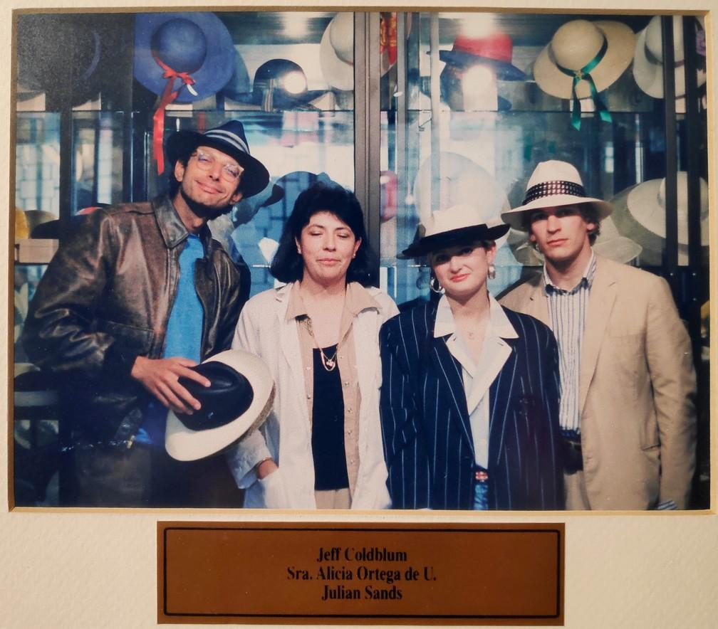 Photo de Jeff Glodblum au musée Ortega de Cuenca
