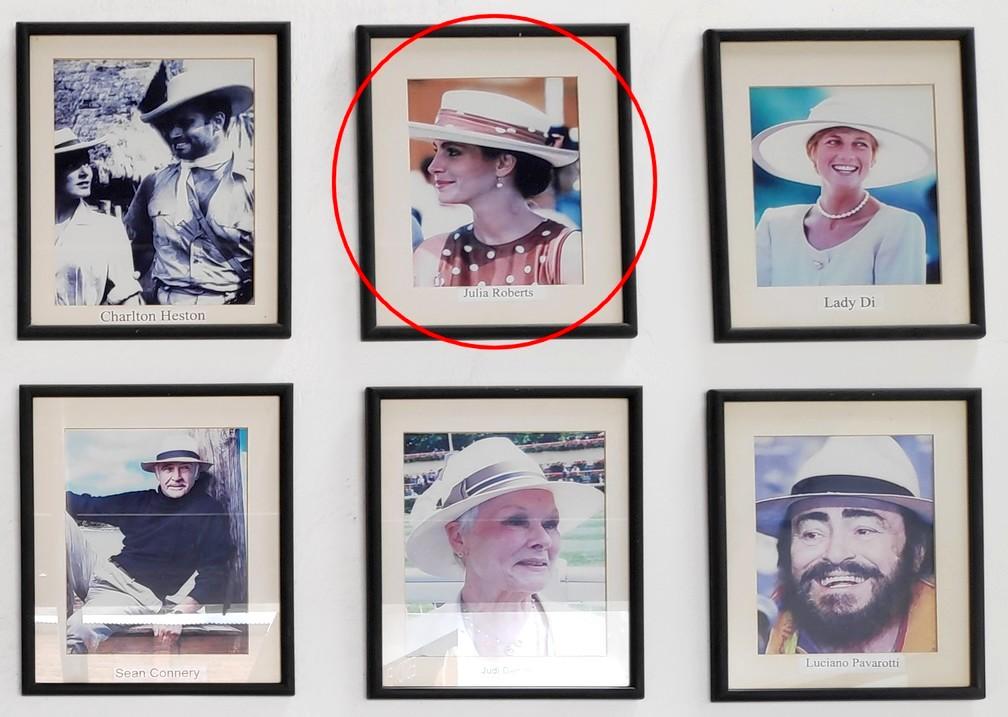 Photo de Julia Roberts au musée Ortega de Cuenca