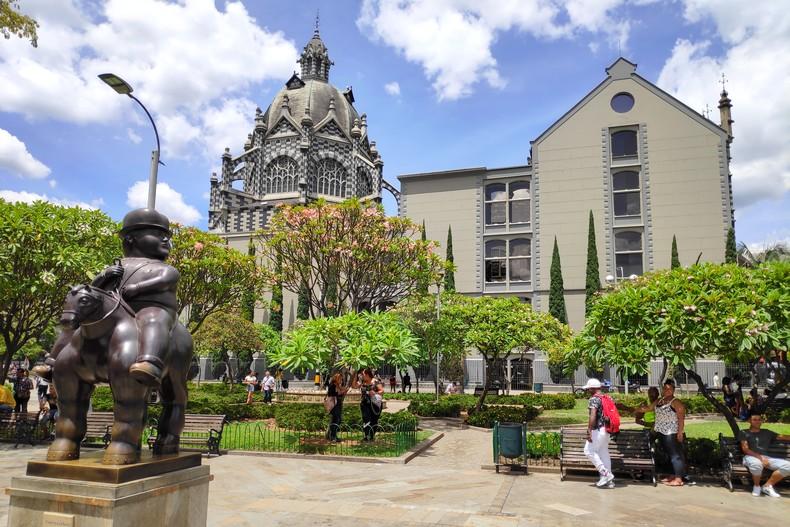 Plaza Botero à Mendellin