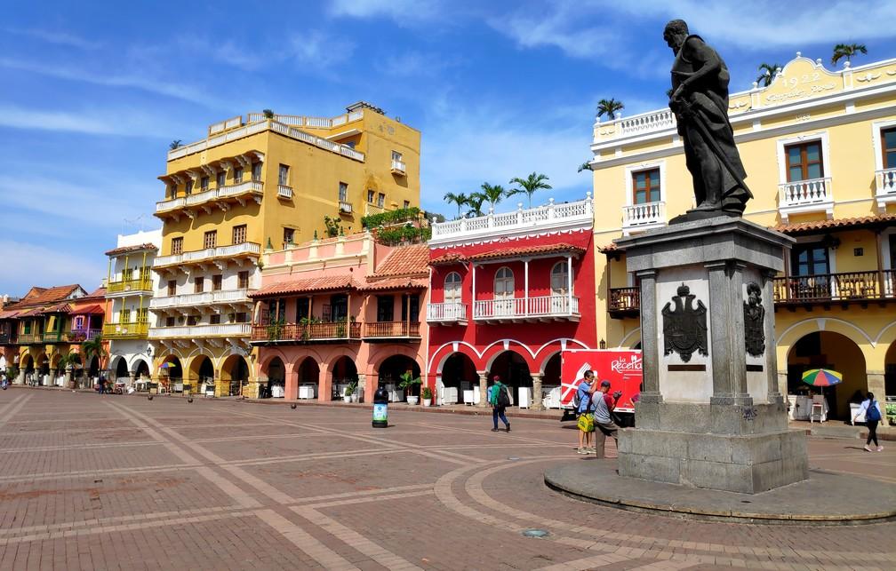 Plaza del Reloj à Carthagène