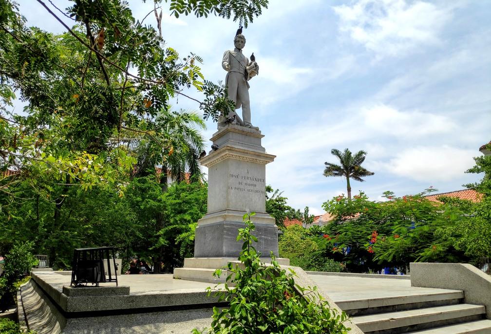 Plaza Jose Fernandez de Madrid à Carthagène