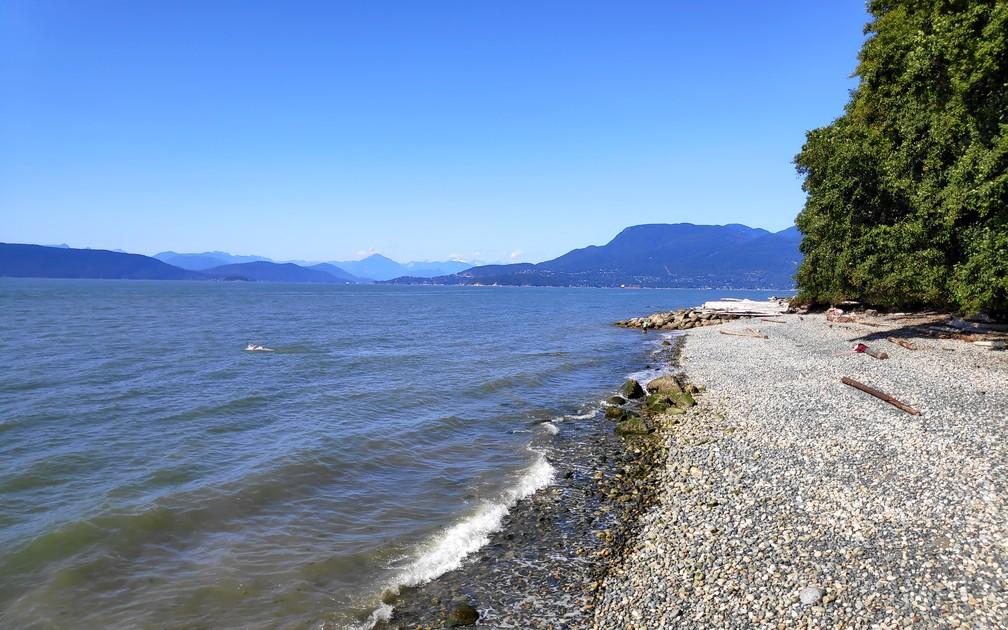 Plage près de Spanish Banks à Vancouver