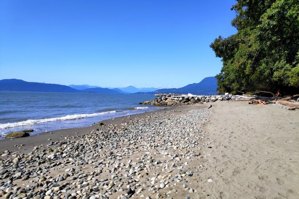 Tower Beach, une des plages de Vancouver