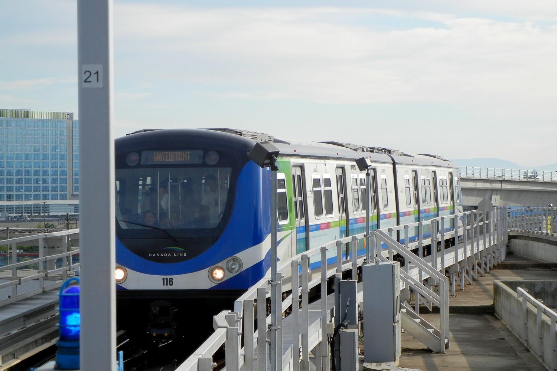 Le métro SkyTrain de Vancouver