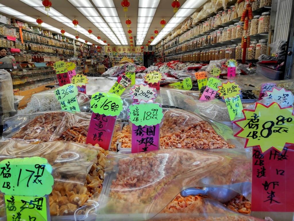 Epicier Chinois dans Chinatown, Vancouver
