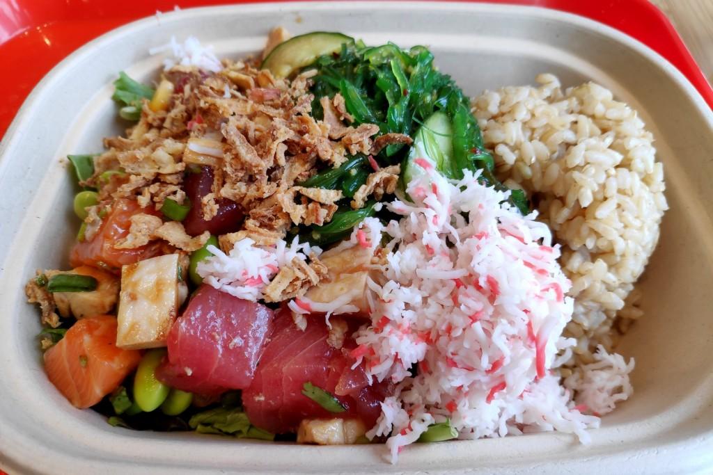 Poké bowl de Poké Bar à Vancouver