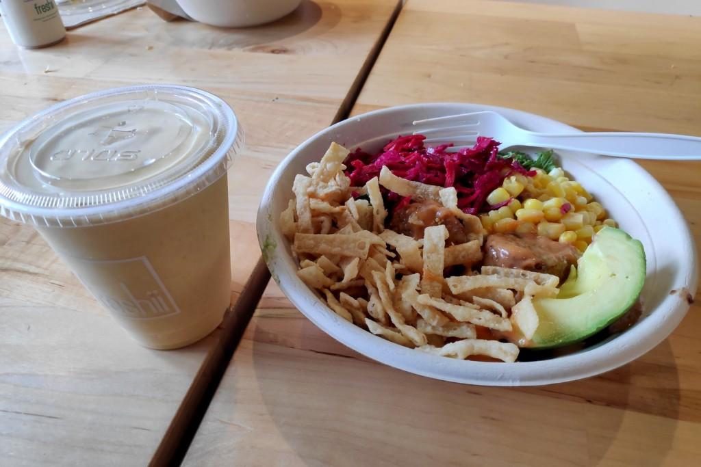 Salade chez Freshii